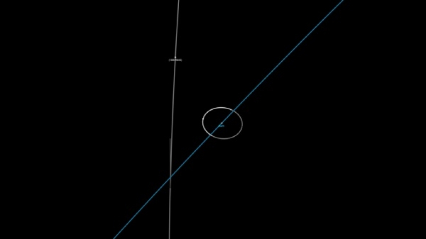 An asteroid (RM45) is approaching Earth