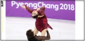 French skater Gabriela Papadakis comments on the exposure of her breasts during her dance at the Winter Olympics in South Korea