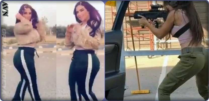 Kiki in Kuwait quietly and in Israel with guns ... Video