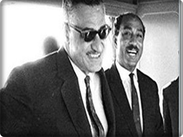 How was the relationship between Sadat and Abdel