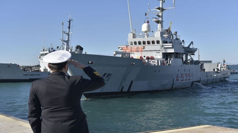 EUNAVFOR MED IRINI: Greece takes over the Force Command