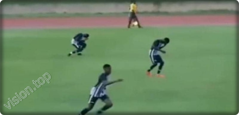Video, Lightning shocks two players during a league match in Jamaica