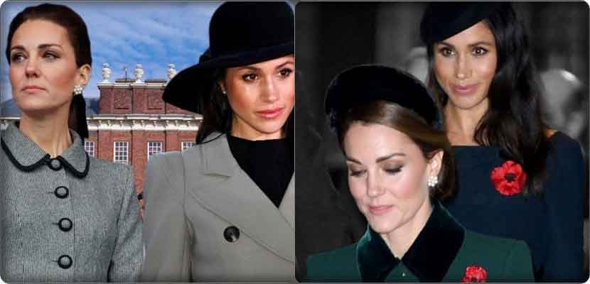 a lot of controversy between Megan Markle and Kate Middleton