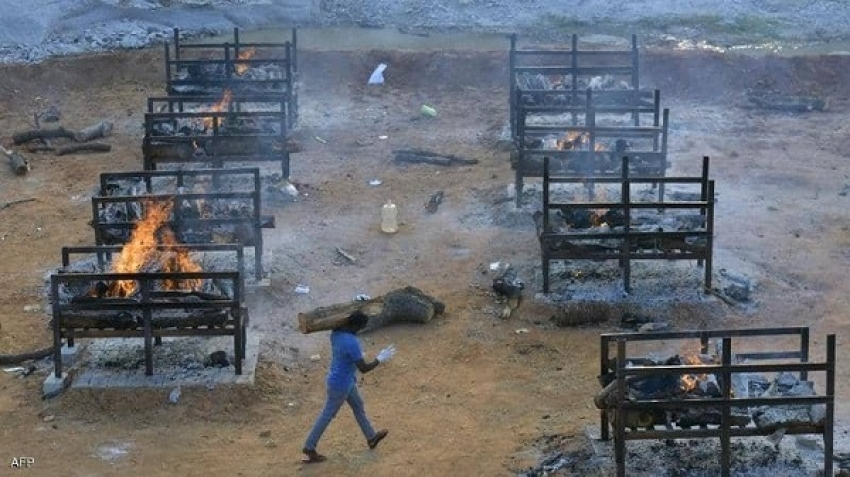 The reality of the tragedy in India, the spread of crematoriums everywhere, and daily injuries in the millions
