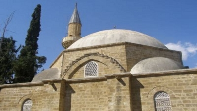 Extremists defame a mosque in Cyprus