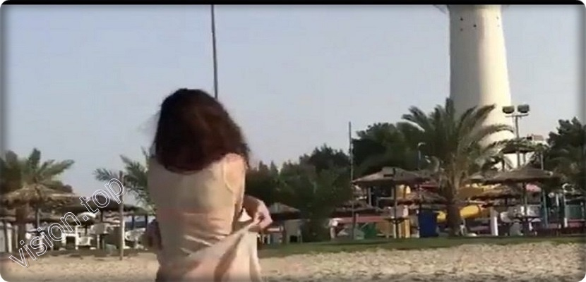 The girl who bared in front of Kuwait Towers, there is no official communication