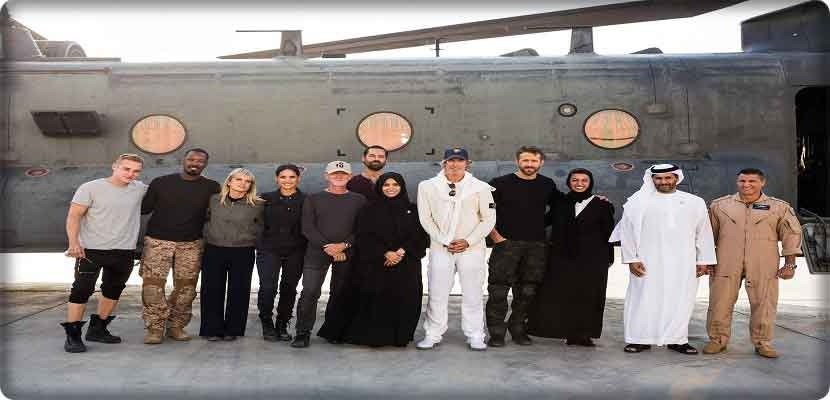 PRINCIPAL PHOTOGRAPHY WRAPS IN ABU DHABI ON ORIGINAL ACTION MOVIE, 6 UNDERGROUND