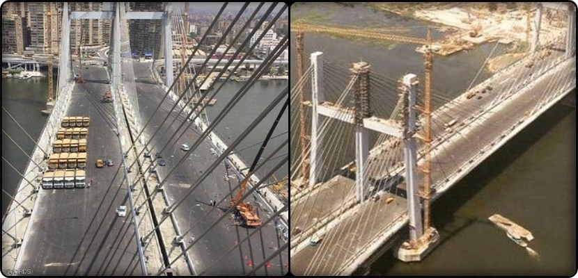 Egypt opens the world's largest suspended bridge with Egyptian qualifications