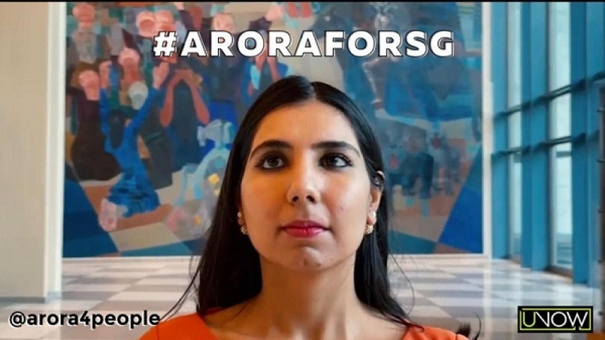 Who is Aurora Kanksha? Candidate for the position of Secretary-General of the United Nations?