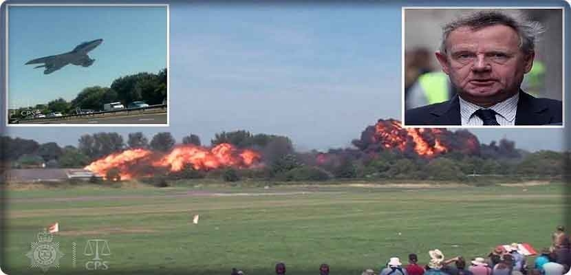 "The innocence of the British pilot ""Andy Hill"" owner of the deadly aerial review"