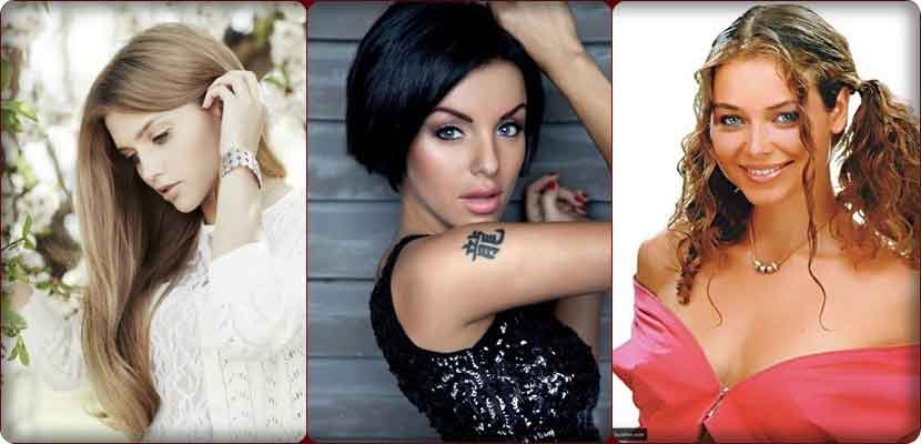 The most beautiful and seductive Russian actresses, pictures
