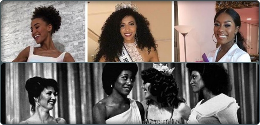 Black-skinned women dominated beauty contests in America