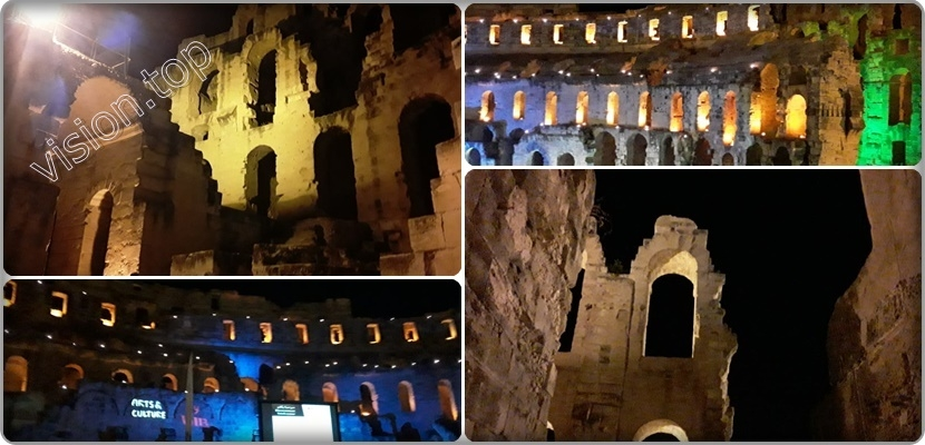 Video: Palace of Jem from the arena of wrestling and fighting to the theater of the stars