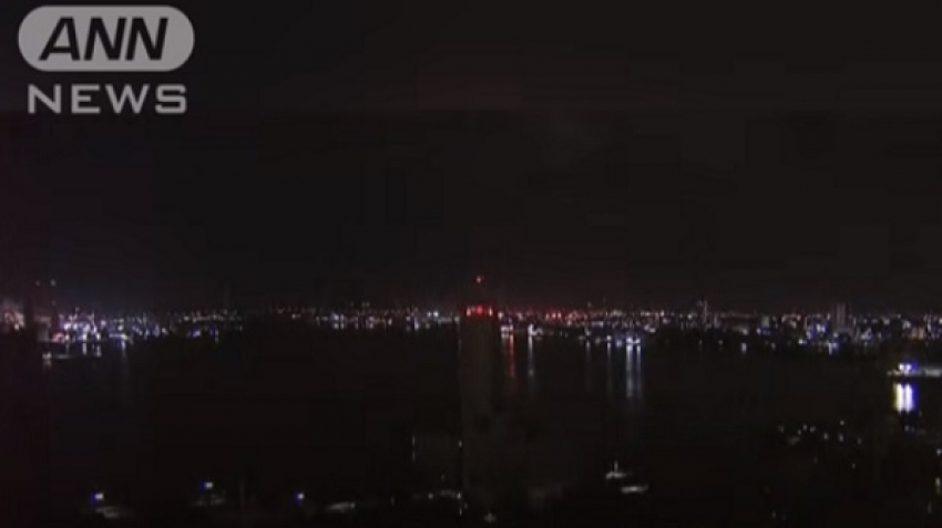 Video, a meteor explosion in the sky of Japan