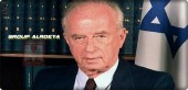 Former Israeli Prime Minister Yitzhak Rabin assassinated right-wing Israeli rightist Igal Amir on November 4, 1995.