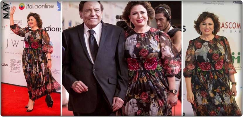 Elham Shaheen at the El Gouna Film Festival in a dress that is not fit and at a fantastic price