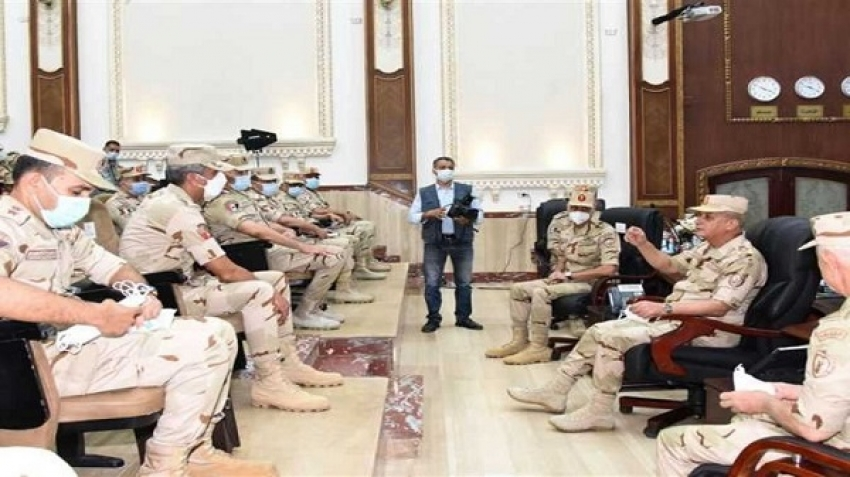 After a message from the army, when will Egypt move militarily?