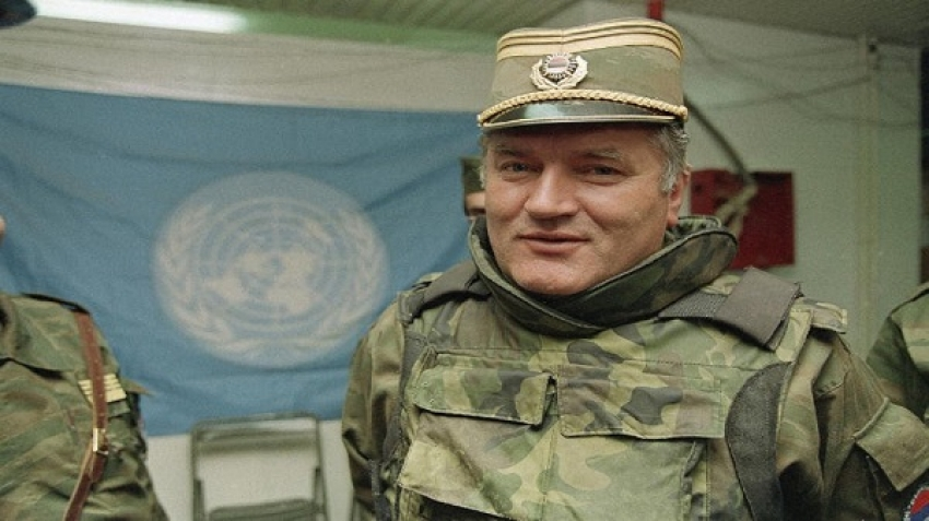 The International Criminal Court in The Hague issues the final verdict on Ratko Mladic