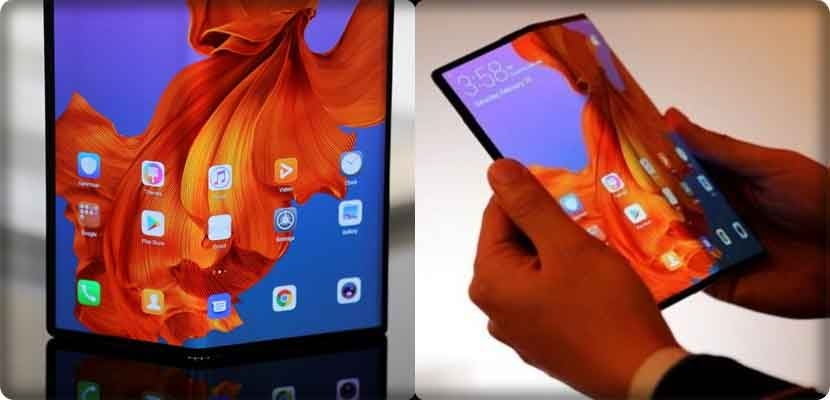 Folding smart phones, race between Huawei and Samsung