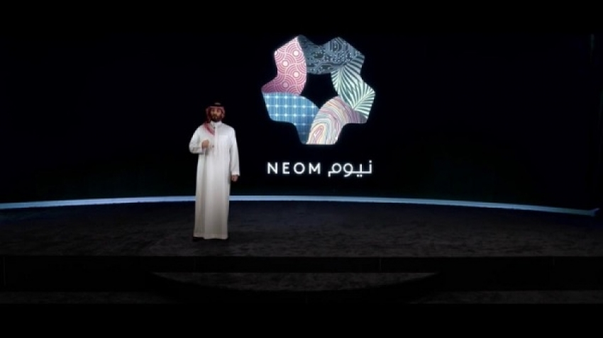"""""""City of the Line"""" in NEOM Saudi Arabia, a community developed away from noise"""