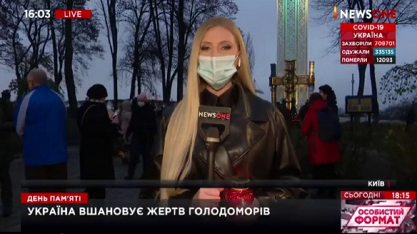 Video, assault of Ukrainian NewsOne TV reporter during a live broadcast